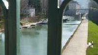 River Doubs in Besancon