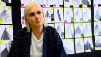 Portrait of Maria Grazia Chiuri, creative director at Dior