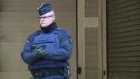 Tribute in front of Charlie Hebdo's premises