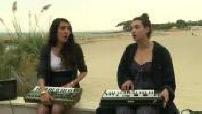 Camelia Jordana on the beach in Miramar talking about her new album