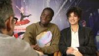 "Interview with Stéphane Bak and Camélia Jordana ""Spiderman: New generation"""