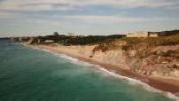 Aerial Views of Biarritz and the Atlantic Ocean