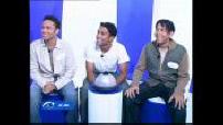 """Fun TV : émission """"Le Jeu"""" - invités : 3T"""