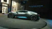 European Preview of the Bugatti Divo in Paris