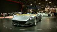 Paris Motor Show : Ferrari, Bugatti