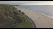 Aerial views by drone : Arcachon pond