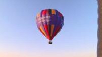 A hot air balloon flight in Provence