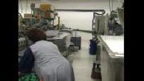 Illustrations de l'intérieur de l'usine et fabrication Stabilo Boss