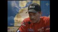 Johnny hallyday participe au rallye arras madrid dakar