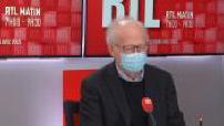L'invité de RTL : Alain Fischer pédiatre, immunologue et Président du Conseil d'orientation de la stratégie vaccinale anti Covid-19