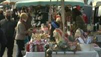 Large format - Sète market: traditions and joie de vivre