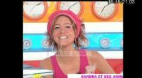 Sandra Lou, French radio and television presenter.