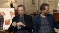 """Interview of Gad and Arié Elmaleh Audrey Lamy David Marsais Pierre Coffin Eric Guillon for """"Despicable 3"""""""
